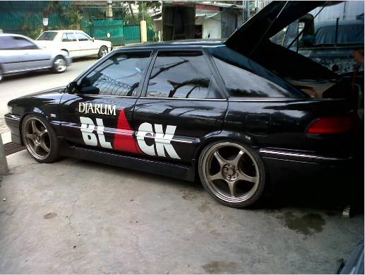 Modifikasi Toyota Corolla Twincam Dj4rum Black