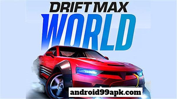 لعبة Drift Max World - Drift Racing Game v1.74 مهكرة كاملة للأندرويد