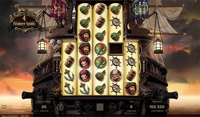 Ulasan Slot NetEnt Indonesia Rage of the Seas