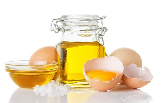 egg and olive oil face mask