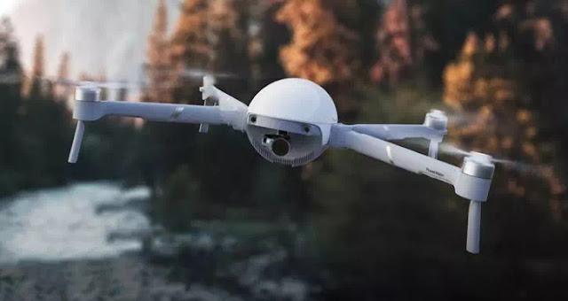 Drone Ini Dapat Digunakan sebagai Kamera Genggam