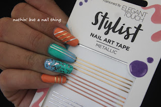 elegant touch nail art tape