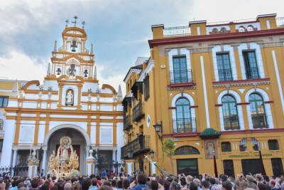 Horario e Itinerario Nuestra Señora del Santo Rosario de la Hermandad de la Macarena. Sevilla 27 de Octubre del 2019