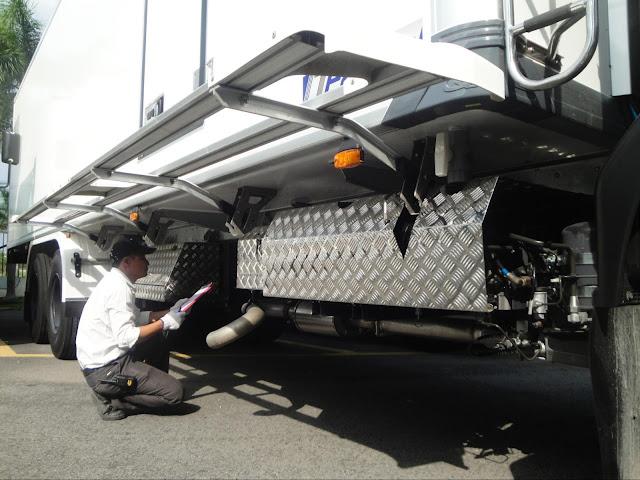 Bảo dưỡng thùng đông lạnh xe tải