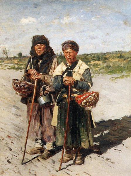 Маковский Владимир Егорович - Две странницы. 1885