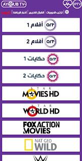 تحميل تطبيق AYOUB TV PLUS لمشاهدة القنوات المشفرة