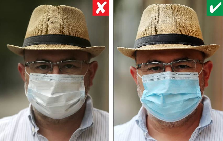 Cómo se pone la mascarilla quirúrgica