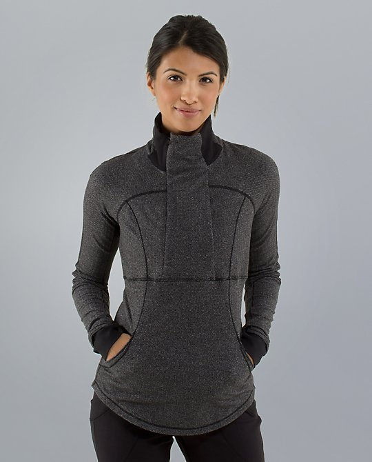 lululemon base runner half zip