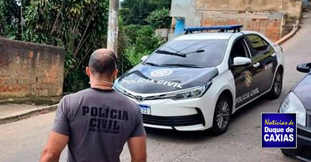 Acusado de Homicídio e tráfico de drogas em Duque de Caxias é preso