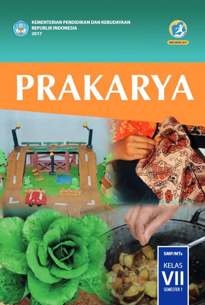 Buku Siswa SMP Kelas 7 Prakarya Semester 1
