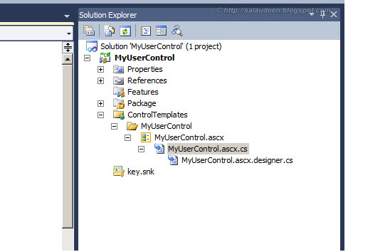 sharepoint 2010 create user control