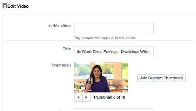 Tip Video Facebook ajakan untuk bertindak