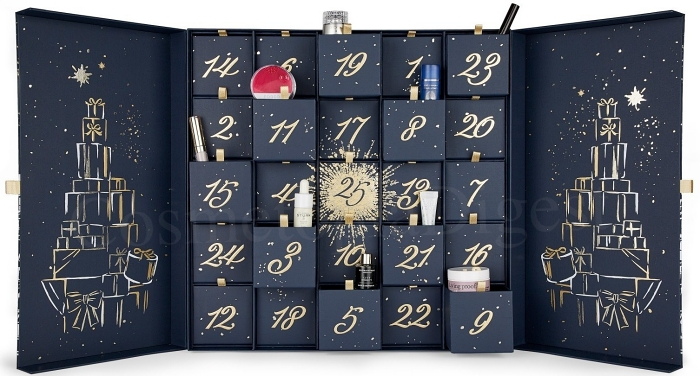 HARRODS BEAUTY ADVENT CALENDAR 2019 SPOILERS AND CONTENTS