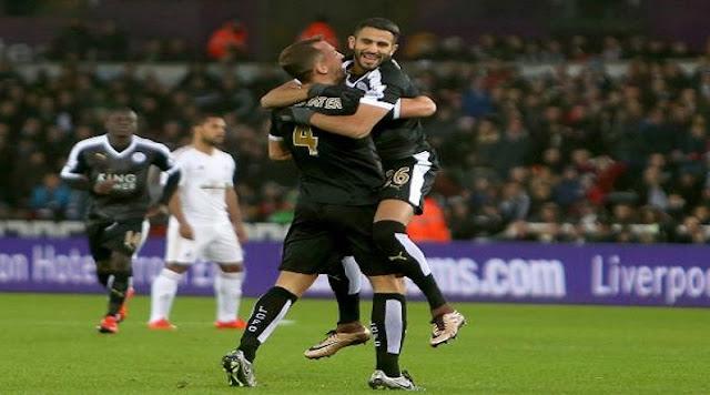 Leicester. vice-président de Leicester « Mahrez veut rester »