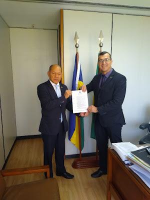 Deputado Federal Coronel Chrisóstomo consegue helicóptero para o Estado de Rondônia