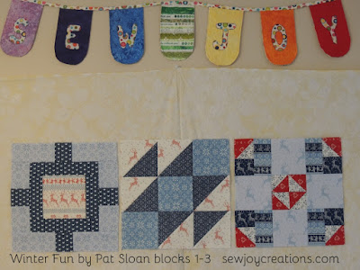 winter fun sewalong quilt blocks pat sloan