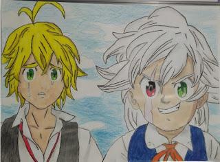 Desenho do Yan - Anime