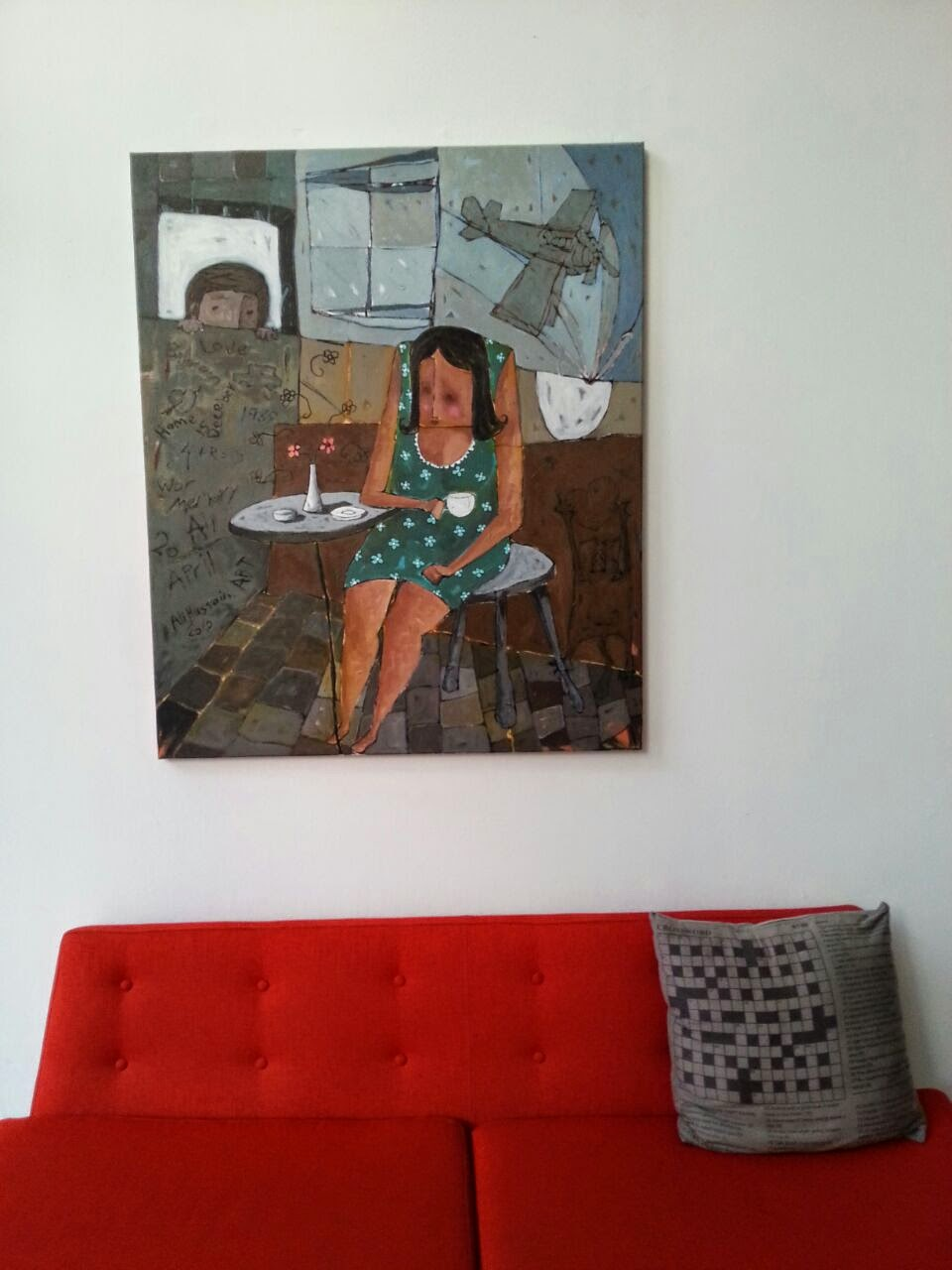 Al Riwaq Art Space Bahrain painting Pop Culture Middle East blog