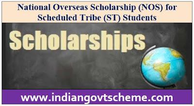 National Overseas Scholarship