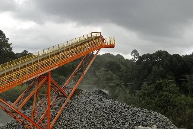 Produção mineral continua crescendo na pandemia e mostra aquecimento da economia do Paraná