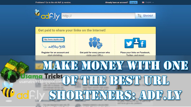 how to make or earn money for shorten, sharing and shrink