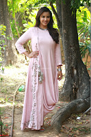 Priya Anand in simply Pink at an interview for movie KOOTATHIL ORUTHAN~  Exclusive celebrities galleries 016.jpg