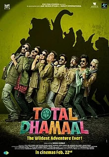 Total Dhamaal 2019 Hindi Movie Pre-DVDRip 700Mb