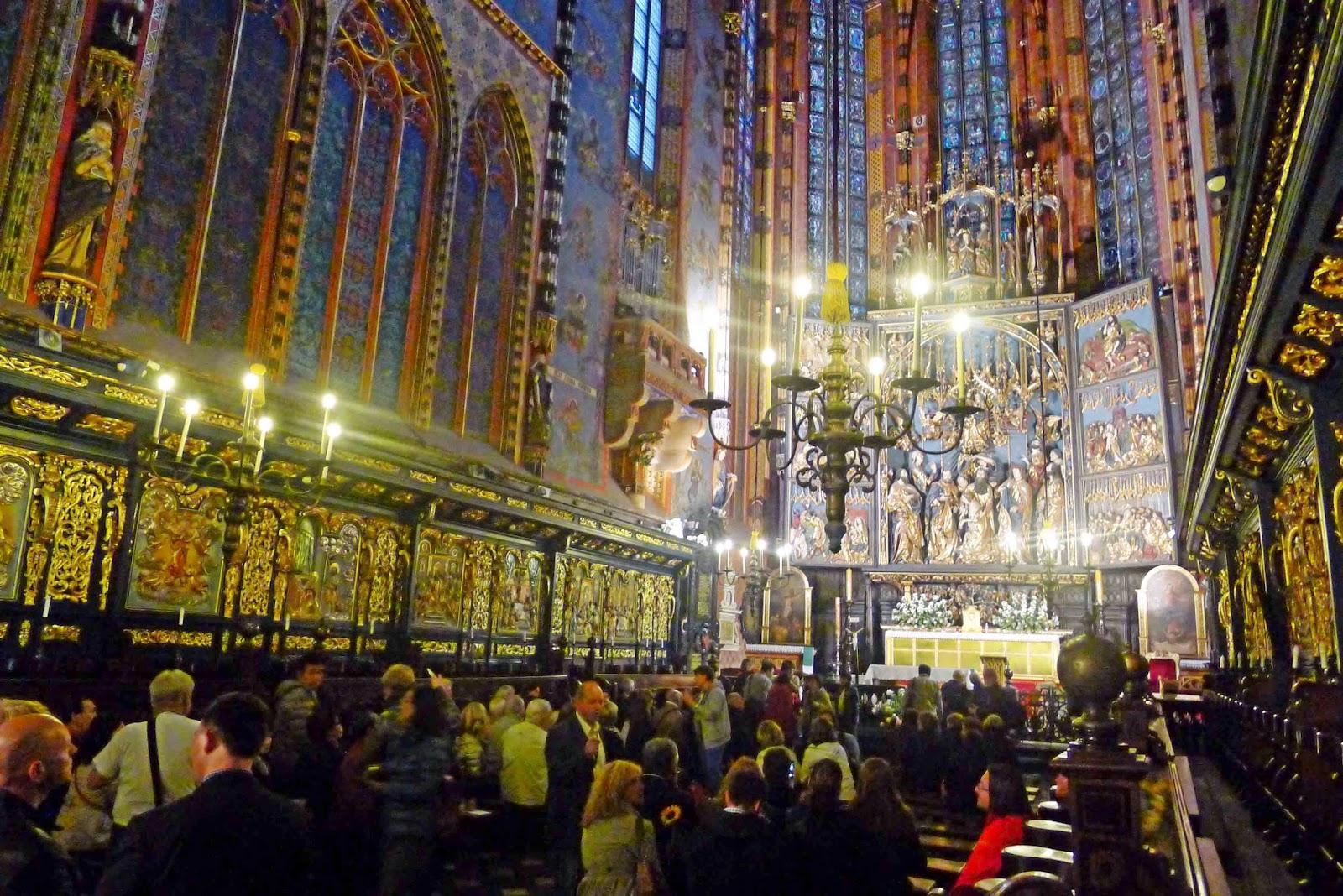 St. Mary's Basilica Altar