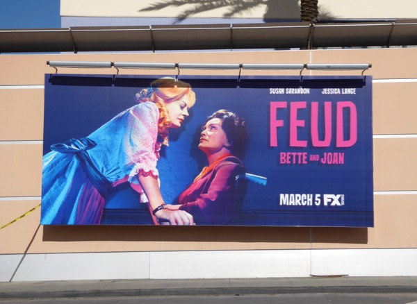 Feud TV series billboard