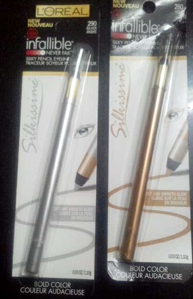 Infallible Silkissme Silky Pencil Eye Liner
