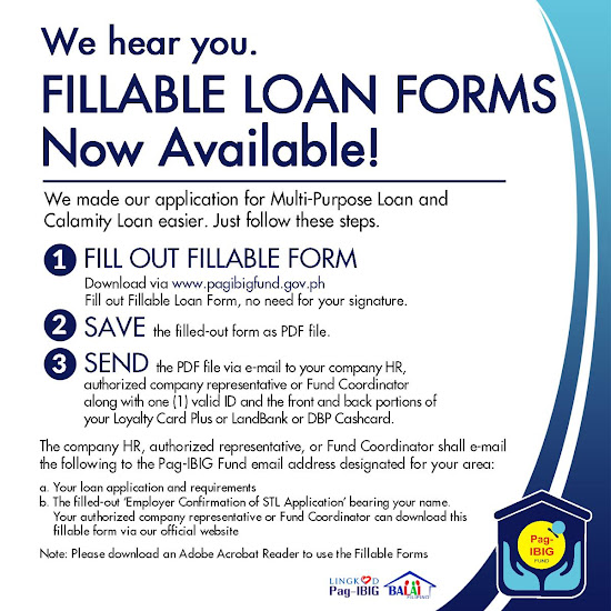 Pag-IBIG Calamity Loan Online Easy Steps