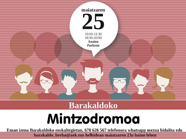 Cartel de Mintzodromoa