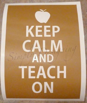 KeepCalm02 Teacher Appreciation: Keep Calm 22