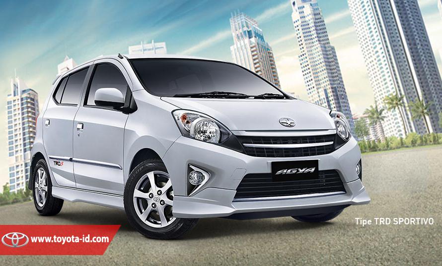 Perbedaan New Agya G Dan Trd Ground Clearance All Kijang Innova Antara Toyota Tipe E Sportivo Atau Dapat Dikatakan S Memiliki Semua Kelengkapan Pada Namun Dengan Tambahan Bodi Kit