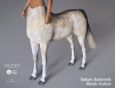 Centaur 7 Female Hides and Breeds