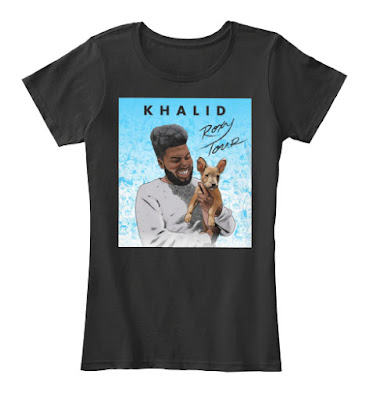 KHALID THE ROXY TOUR T SHIRT HOODIE - TEESPRING BEST SELLING 2017 -2018