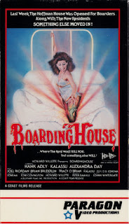 Paragon Home Video sleeve for BOARDINGHOUSE (1982)