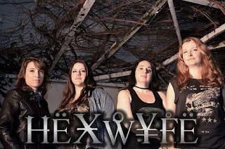 Rio de Metal entrevista banda de Women Power Hexwyfe