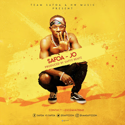 """Safoa Unveils Song Cover Art And Sets Date To Release His New Single """"Jo"""" (Check Date)"""