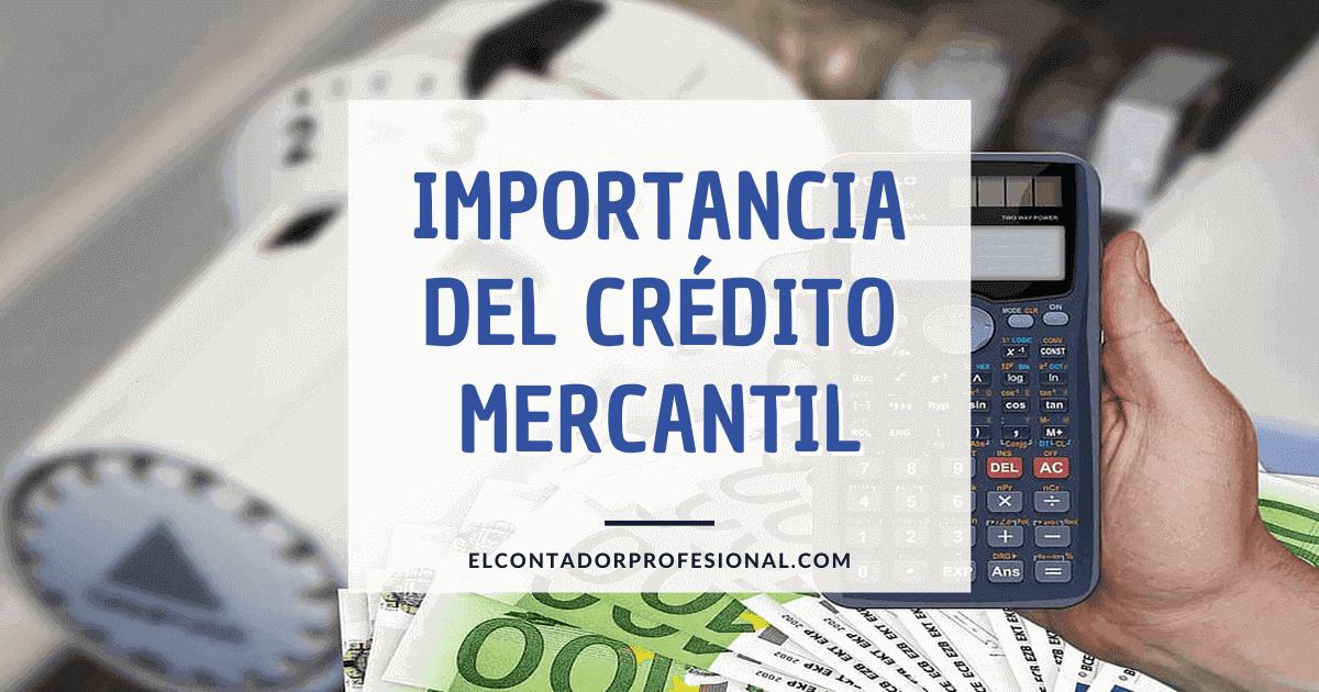 importancia del credito mercantil