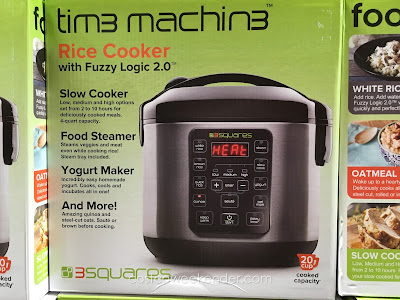 Costco 2735035 - 3 Squares Tim3 Machin3 Rice Cooker - the perfect all-in-one appliance