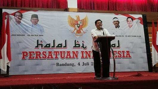 Diberi Tugas Khusus, TKD Jabar Jokowi-Ma'ruf tak Dibubarkan