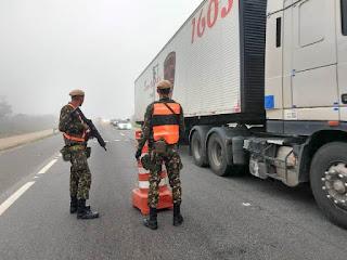 Exército Brasileiro desencadeia operação para fiscalizar explosivos no Vale do Ribeira