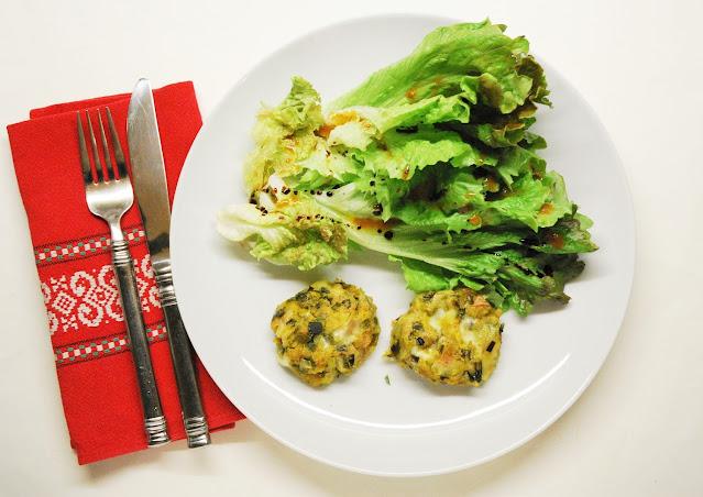 Boulettes poireaux - fromage à raclette