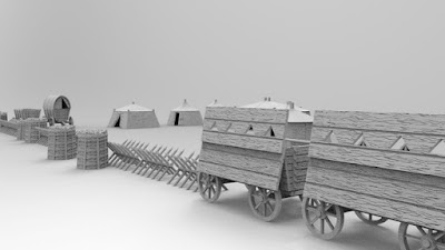 Goal Hussite Wagons, Tents, Field works picture 2