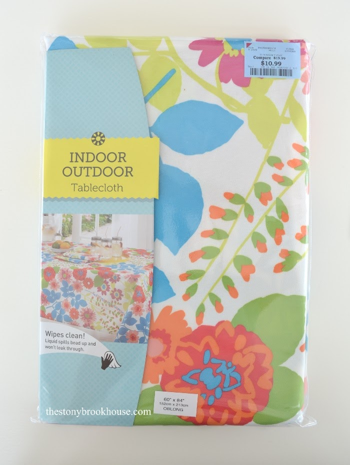 Outdoor Tablecloth from Burlingtons