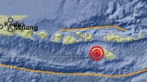 Gempa Susulan Barat Daya Sumba Barat NTT Data Lokasi, korban jiwa, rugi materil, kronologis gempa skala 6.6 sR