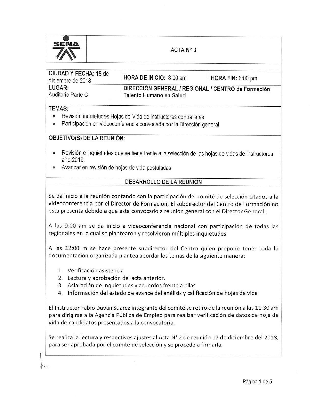 Centro De Formacion De Talento Humano En Salud Sena Distrito Capital