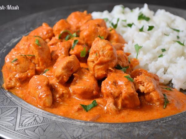 Пикантно пиле по индийски