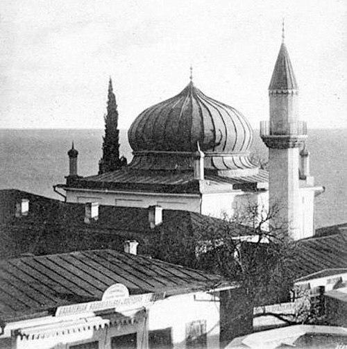 Фото мечети в Алупке